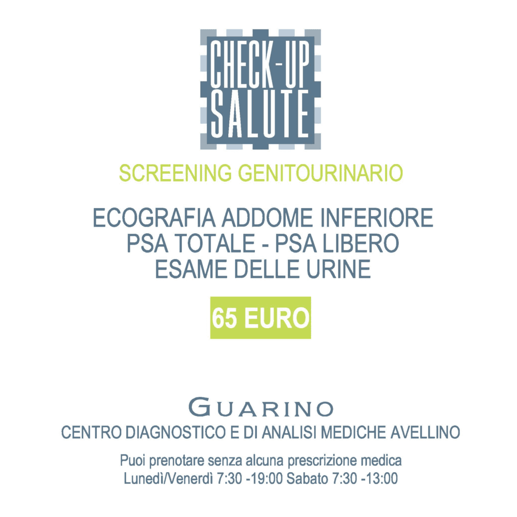 Screening Genitourinario