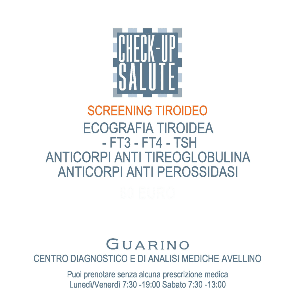 Screening Tiroideo