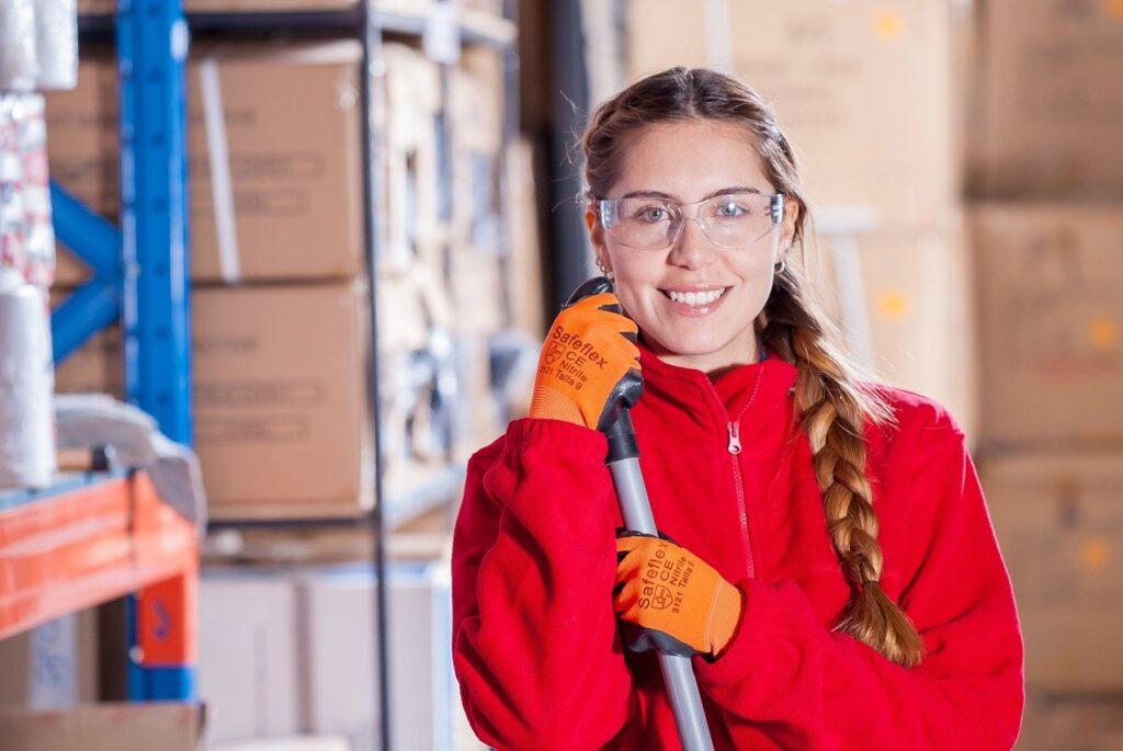 Industriale Sicurezza Logistica Abiti Da Lavoro Covid 19 Tamponi Aziende